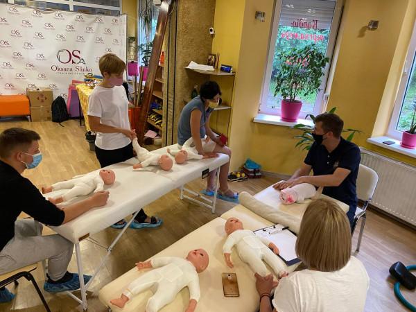 """Семінар 3-4 липня """"Дитячий масаж і гімнастика від 0 до 1 року. Алгоритм роботи з батьками"""""""